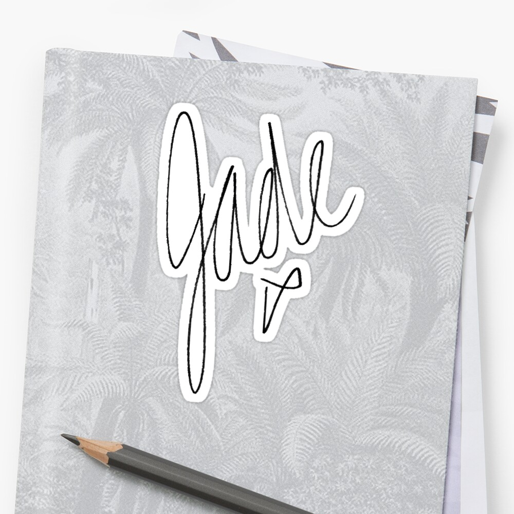 Little Mix - Jade Signature by katiefranco