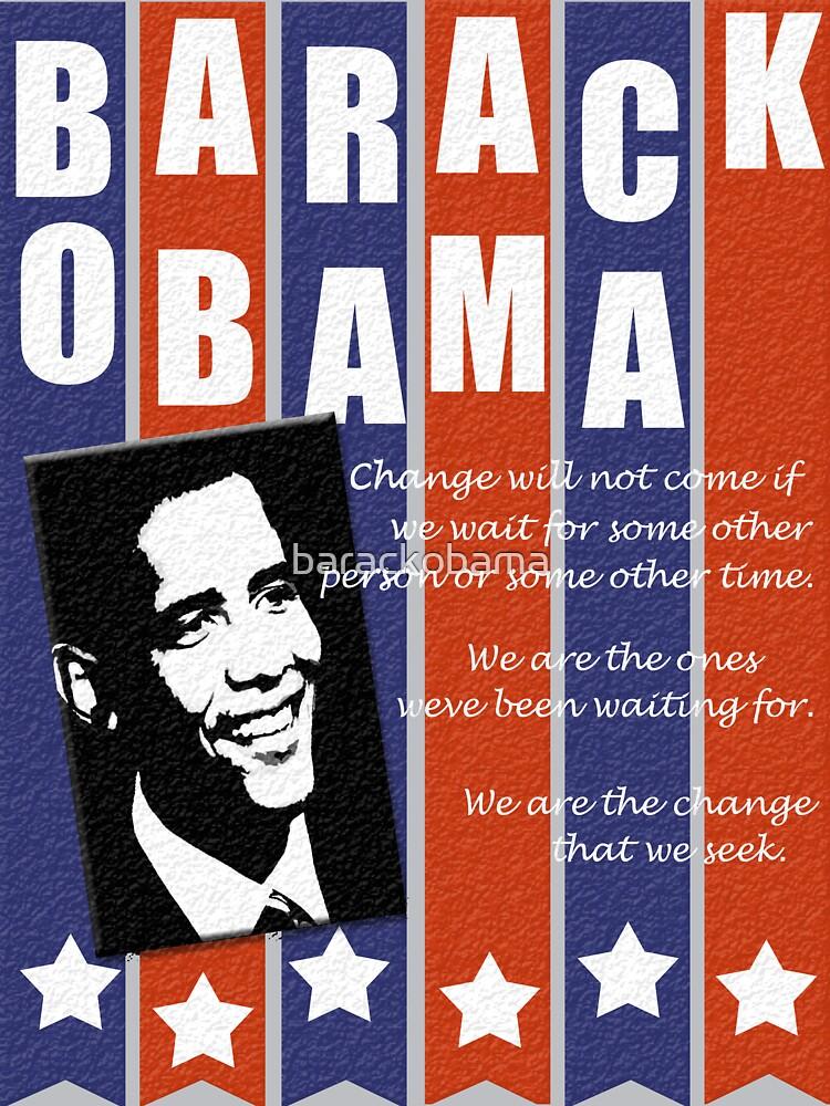 Barack Obama Change Speech  by barackobama