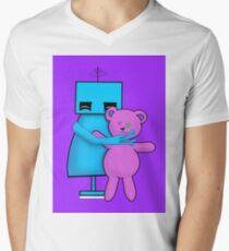MINE - Cute Robot with his Teddy Bear T-Shirt