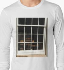 looking through Historical house window. Long Sleeve T-Shirt