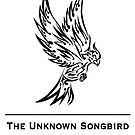 The Unknown Songbird - Black logo by Morgan Berry