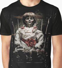 Annabelle die Spukpuppe Grafik T-Shirt