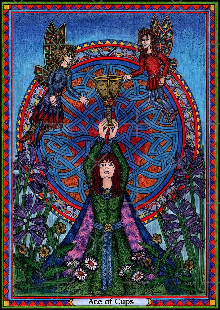 The Ace of Cups, Tarot by CherrieB