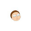 Crying Morty by rolypolynicoley