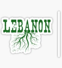 Lebanon Roots Sticker