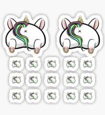 Pegatina Conjunto de planificador de unicornio unicornio