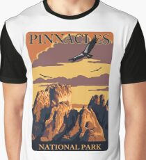 Pinnacles National Park Travel Decal Sticker California Graphic T-Shirt