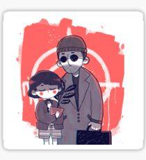 Léon and Mathilda Sticker