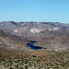Beautiful view of the Colorado River in the distance... by DonnaMoore