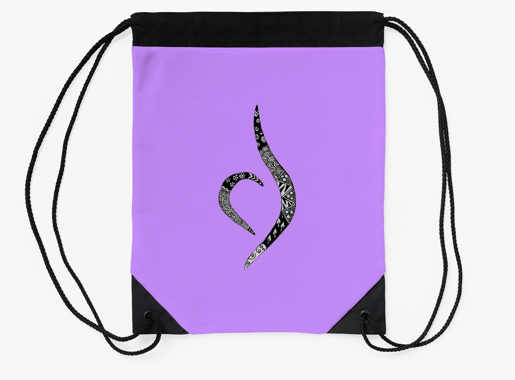 Eating disorder recovery symbol drawstring bags by anna burgess eating disorder recovery symbol biocorpaavc Image collections
