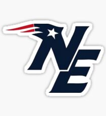 New England patriot sticker Sticker