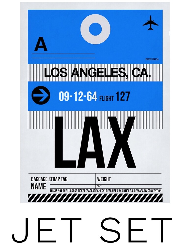 LAX by MworldTee