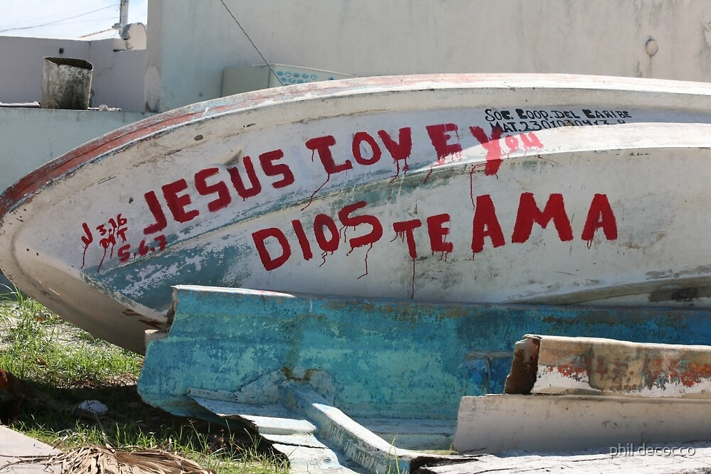 Dios Te Ama by phil decocco