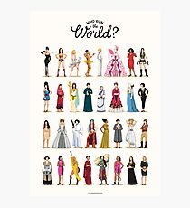 Who Run the World Photographic Print