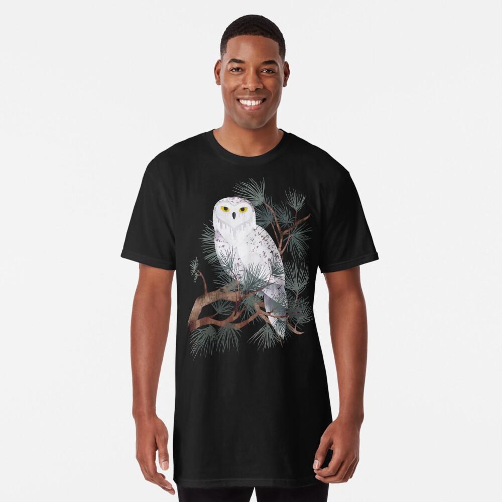 Snowy Long T-Shirt