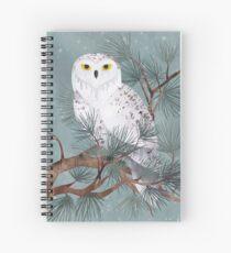 Snowy Spiral Notebook