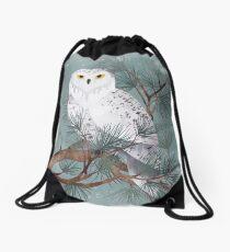 Snowy Drawstring Bag