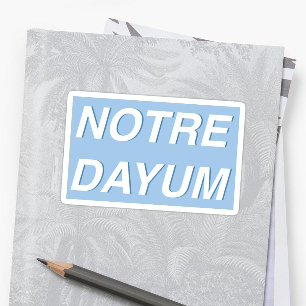 Notre Dayum  by laurel98
