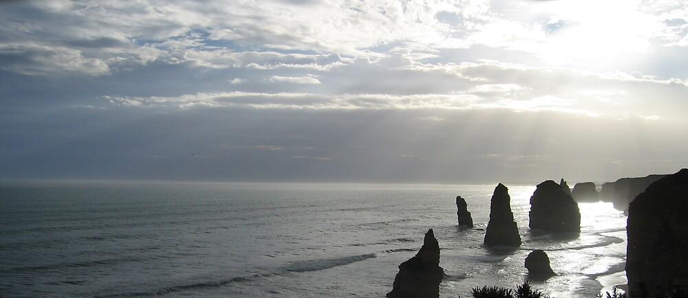 Twelve Apostles - Lanscape by Liz Cooper