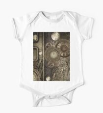 Steampunk, clocks and gears Kids Clothes