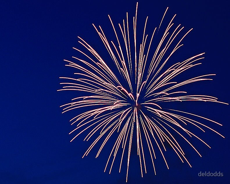 2008 Fireworks Hart Michigan by deldodds