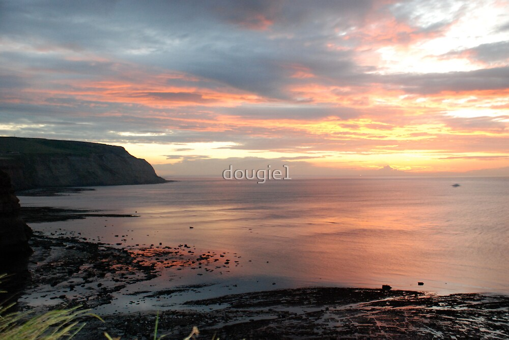 Another beautiful sunset at Cowbar by dougie1
