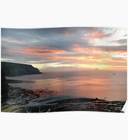 Another beautiful sunset at Cowbar Poster