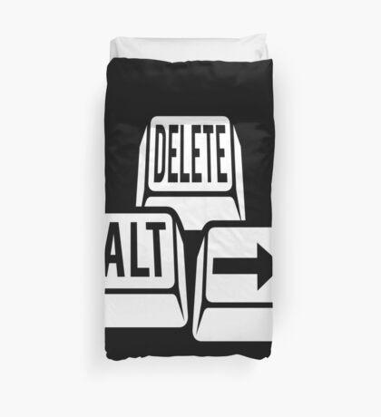 Delete Alt Right Duvet Cover