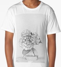 Simplicity Living in Black and White Long T-Shirt