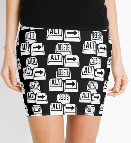 Delete Alt Right Mini Skirt
