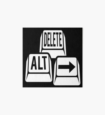 Delete Alt Right Art Board