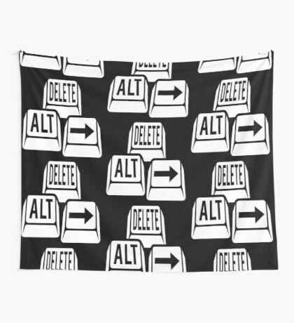 Delete Alt Right Wall Tapestry