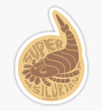 Super Silurian Sticker