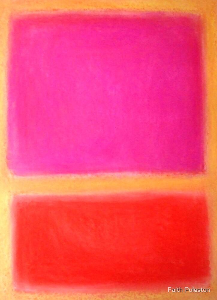 apologies to Rothko by Faith Puleston
