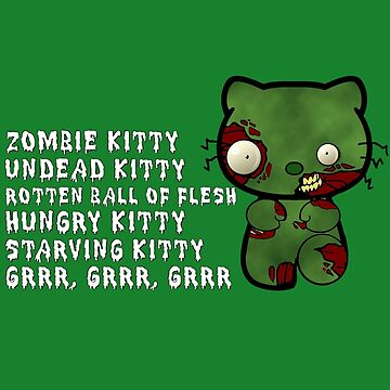 Zombie Kitty by Rayzilla79