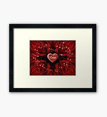 Love. Love, Love Framed Print