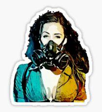 Gas Mask Sticker