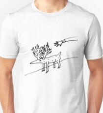 Gordon Cole's Napkin Drawing Unisex T-Shirt