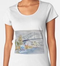 Luna Park from Lavendar Bay Women's Premium T-Shirt