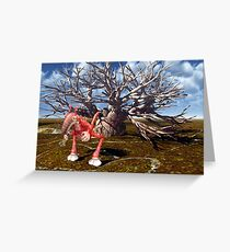 Nurble's Nervousness Greeting Card