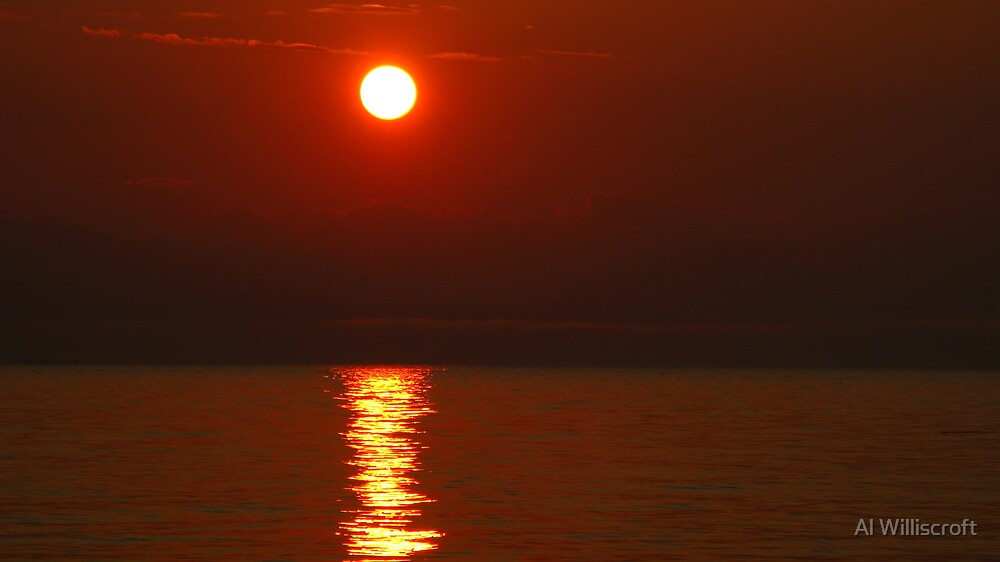 Red Sun by Al Williscroft