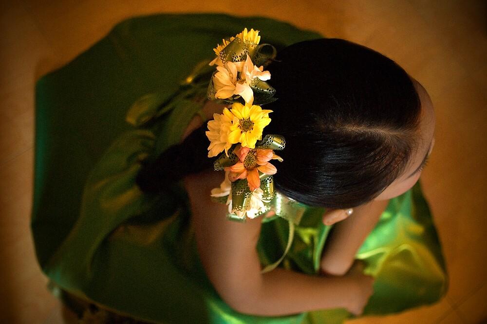 Flower Girl by Dennis Pilapil