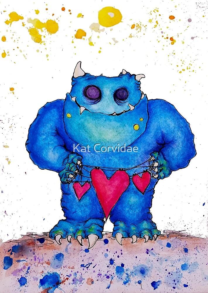 Monster Heartstrings by Katastrophe Corvidae