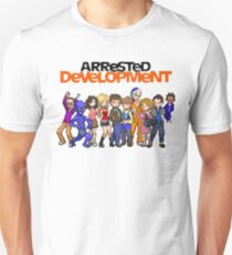 8-Bit Arrested Development Unisex T-Shirt