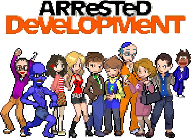 Image result for arrested development 8-bit