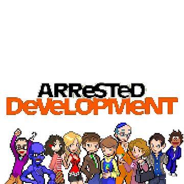 8-Bit Arrested Development by ceejsterrr