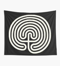 Labyrinth  Wall Tapestry