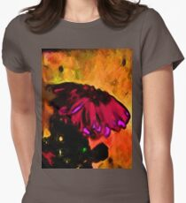 Pink and Red Flower with some Gold T-Shirt