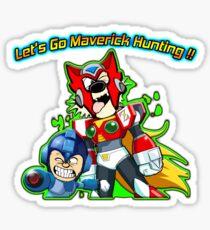 Mega Calvin & Hobbes Zero Sticker