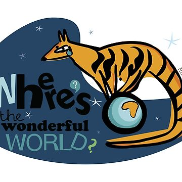 Where's the Wonderful World? by belettelepink